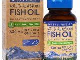 Wiley's Finest, Óleo de Peixe Selvagem do Alasca, Easy Swallow Minis, 450 mg, 60 Cápsulas Softgel