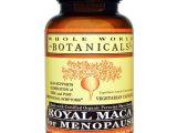 Whole World Botanicals, Royal Maca para Menopausa, 500 mg, 120 Cápsulas Vegetarianas