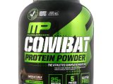 MusclePharm, Combat Protein Powder, Chocolate com Leite, 1.814 g (4 lbs)
