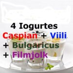 4 Iogurtes Infinitos – Caspian + Viili + Bulgaricus + Filmjolk – com Frete Grátis 1